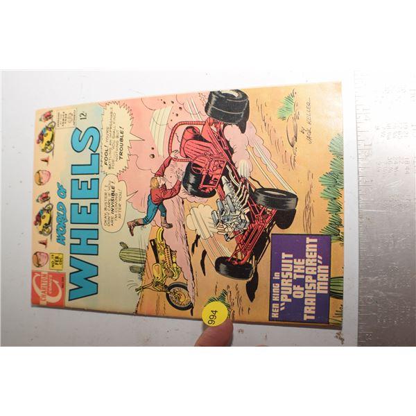 1964 Hot Rod Comic book