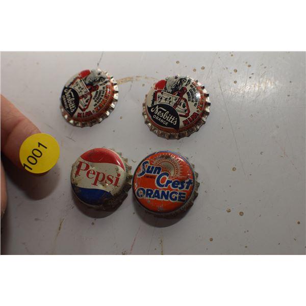 Beliveau Hockey contest Bottle caps etc