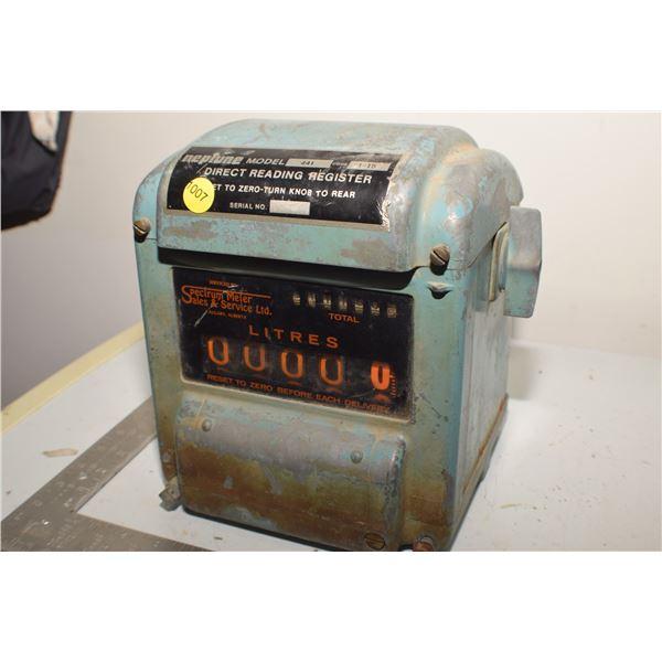 Antique Gas Metering Head
