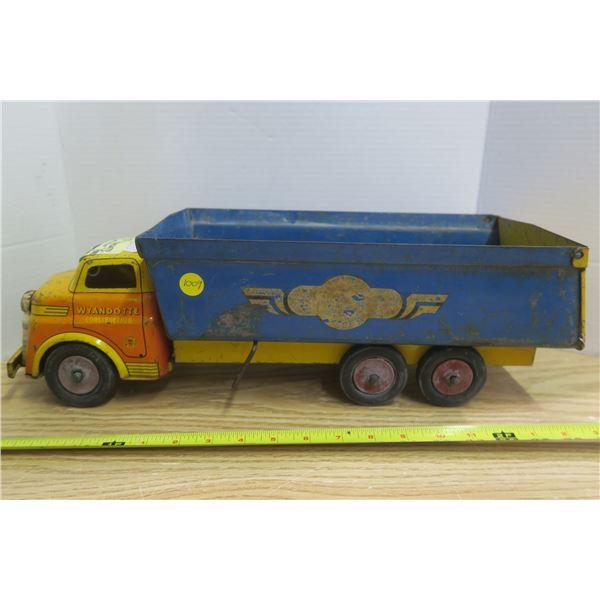 "1950 Wyandotte ""Coaster"" Blue/Yellow All Origional 20"" USA"