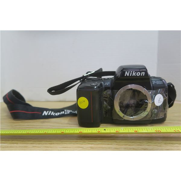 Nikon Camera Missing Lens