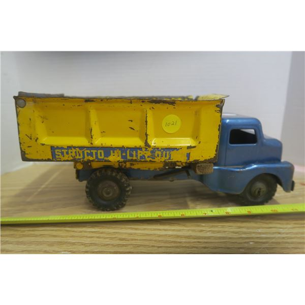 Structo High Lift Dump Truck 1950