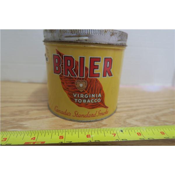 Brier Tobacco Tin