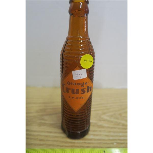 Rare Type Orange Crush  Bottle