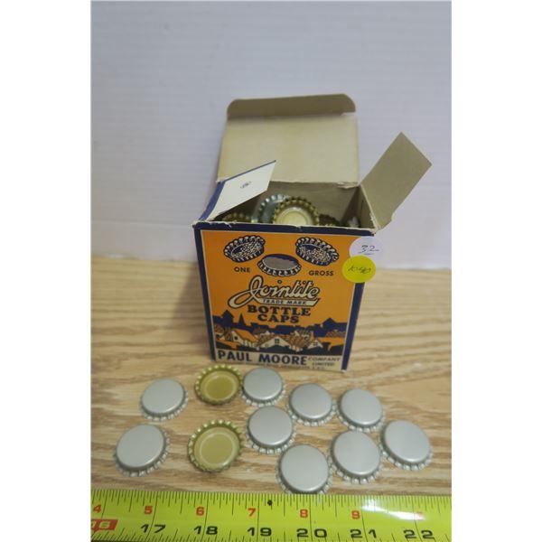 Full box of Vintage Bottle Cops - 1 Gross