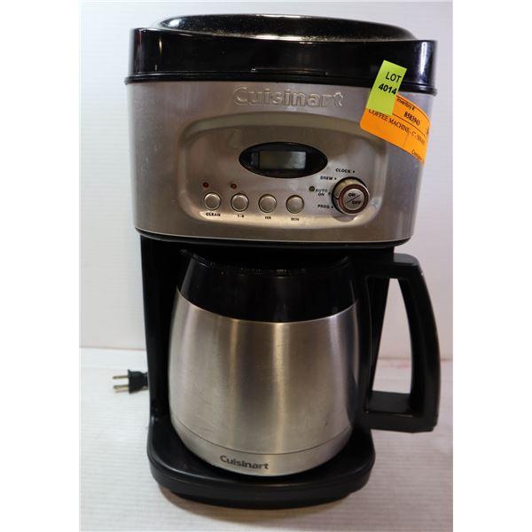 COFFEE MACHINE - CUISINART