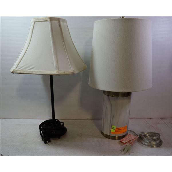 SMALL BRASS LAMP