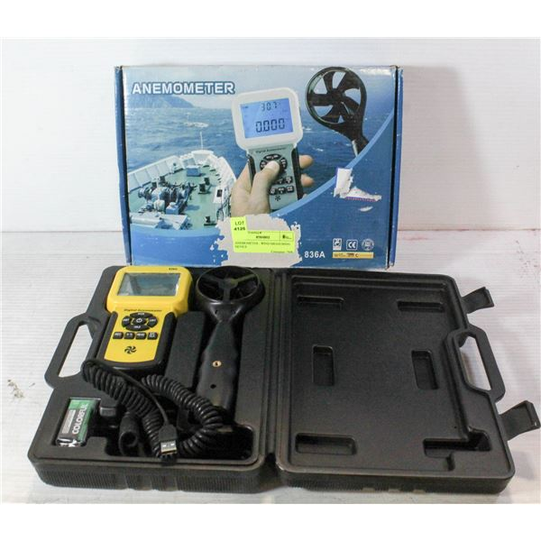 ANEMOMETER - WIND MEASURING DEVICE
