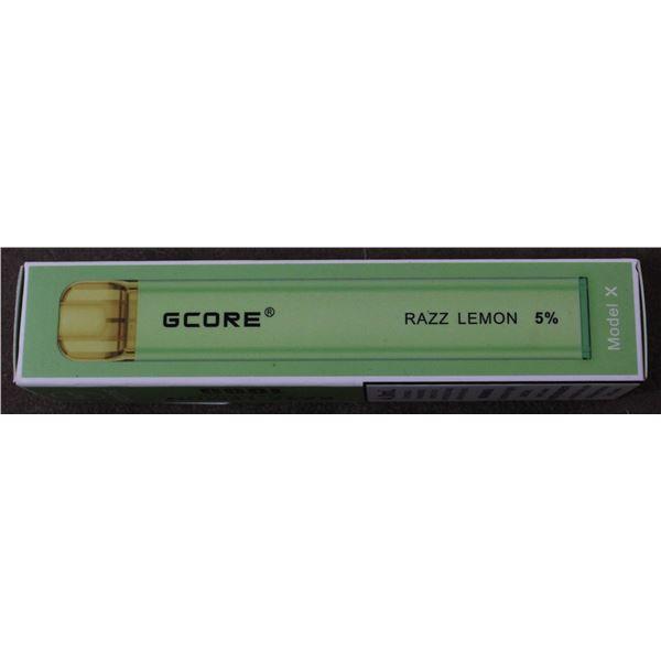 ONE G-CORE 1000 PUFFS E-CIG RAZZ LEMONADE 5%