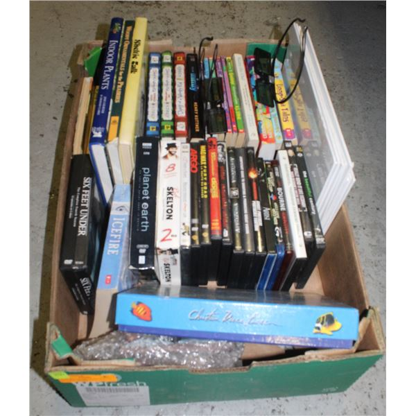 FLAT WITH SAMSUNG BATTERY 3D GLASSES , BOOKS,