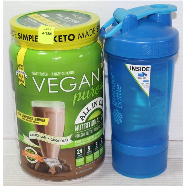VEGAN PURE LIFE ALL IN ONE NUTRITIONAL SHAKE