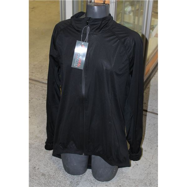 NEWDEAL ATHLETICS SZ L WORK OUT / TRAINING JACKET