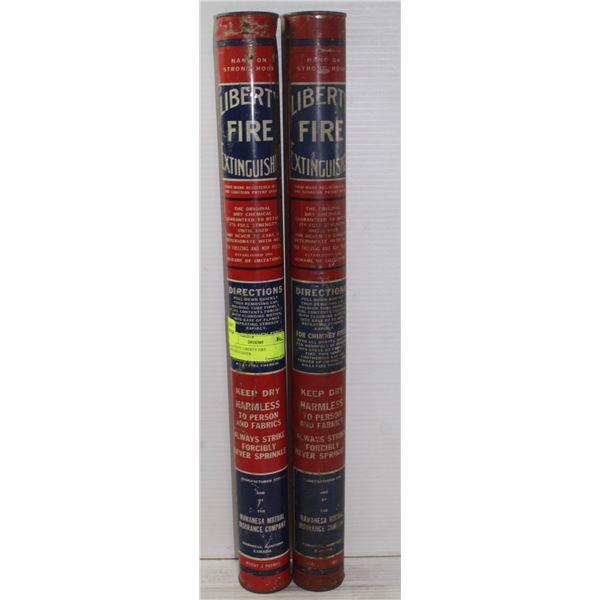 ANTIQUE LIBERTY FIRE EXTINGUSIHERS