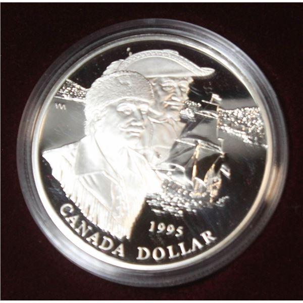 RCM 1995 PROOF SILVER DOLLAR