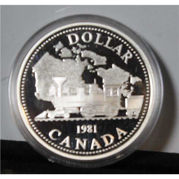 RCM 1996 PROOF SILVER DOLLAR- MACINTOSH APPLE