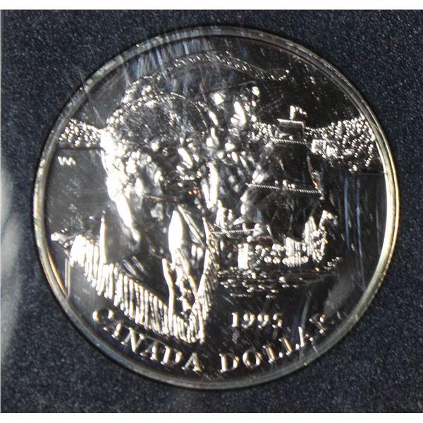 RCM 1995 B.U. PROOF SILVER DOLLAR