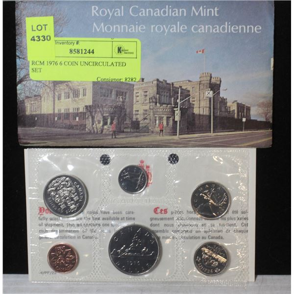 RCM 1976 6 COIN UNCIRCULATED SET