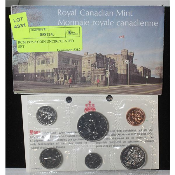 RCM 1975 6 COIN UNCIRCULATED SET