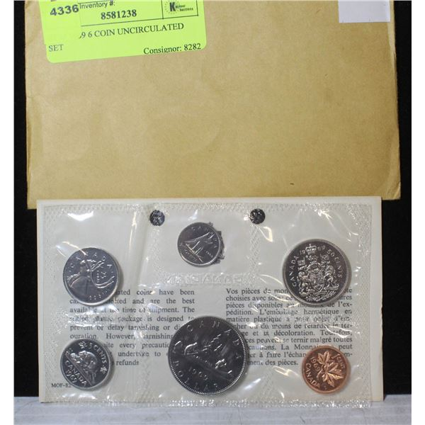 RCM 1969 6 COIN UNCIRCULATED SET