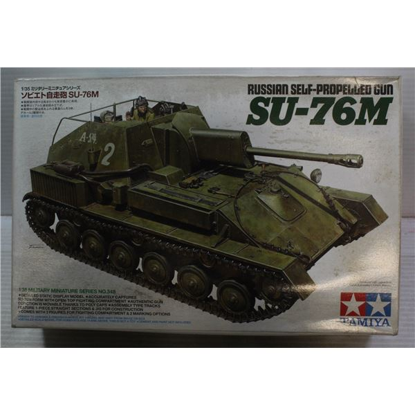 1:35 SCALE SU-76M TANK TAMIYA MODEL
