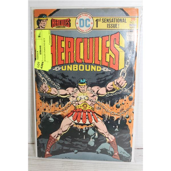 # 1 HERCULES UNBOUND KEY COMIC