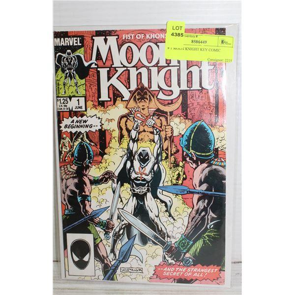 # 1 MOON KNIGHT KEY COMIC