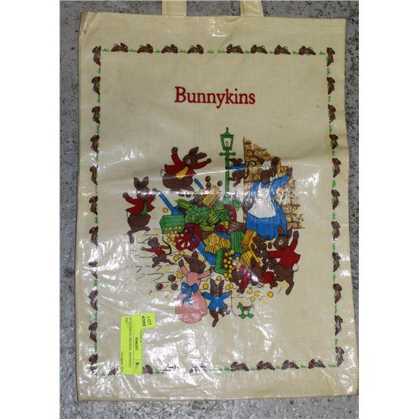 BUNNYKINS ORIGINAL SHOPPING BAG