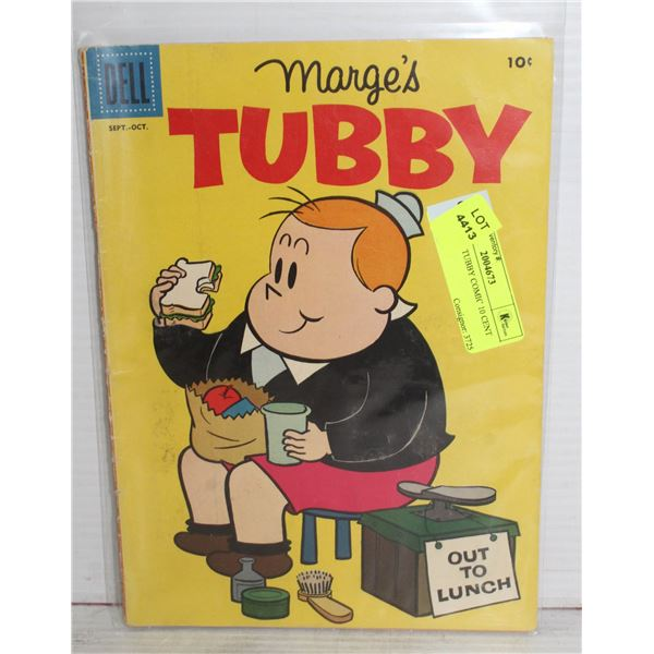 1950S DELL TUBBY COMIC 10 CENT