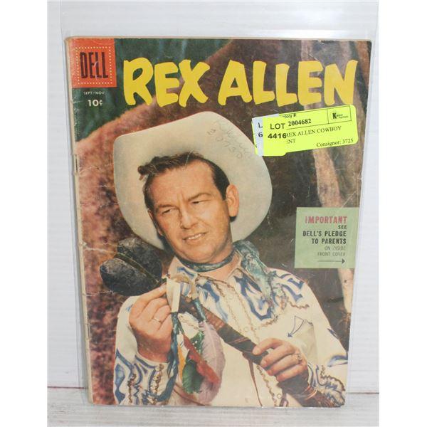 1950S DELL REX ALLEN COWBOY COMIC 10 CENT