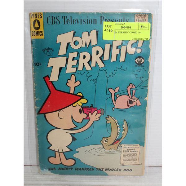 1950S TOM TERRIFIC COMIC 10 CENTS