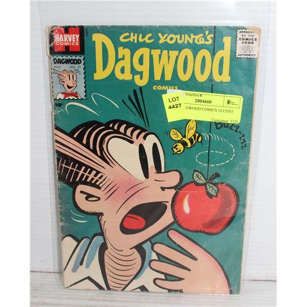 1950S DAGWOOD COMICS 10 CENT HARVEY