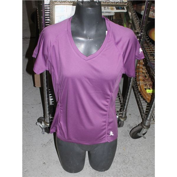 GROUP OF 4 PURPLE SIZE SMALL NEWDEAL  ATHLETICS