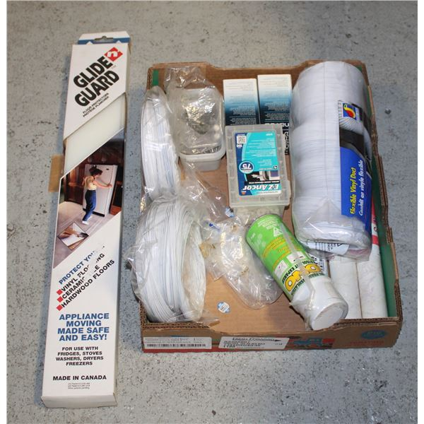 BOX LOT OF HOME ESTATE ITEMS AND MORE