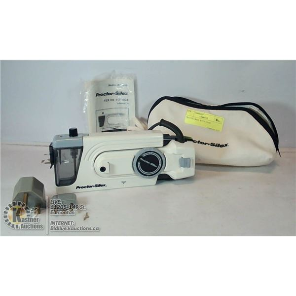 TRAVEL IRON WITH CASE