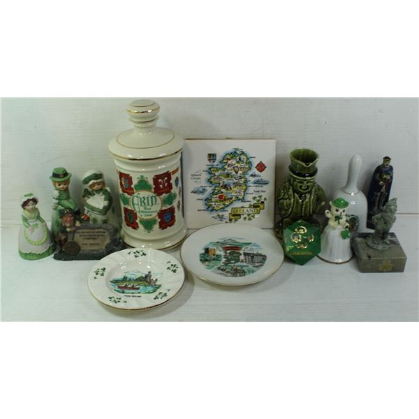 LARGE SELECTION OF IRISH COLLECTABLES.