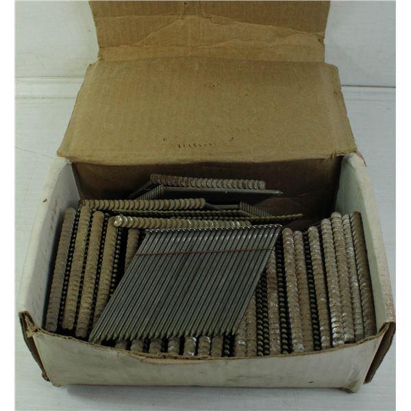 BOX OF BRAD NAILER 3 INCH NAILS