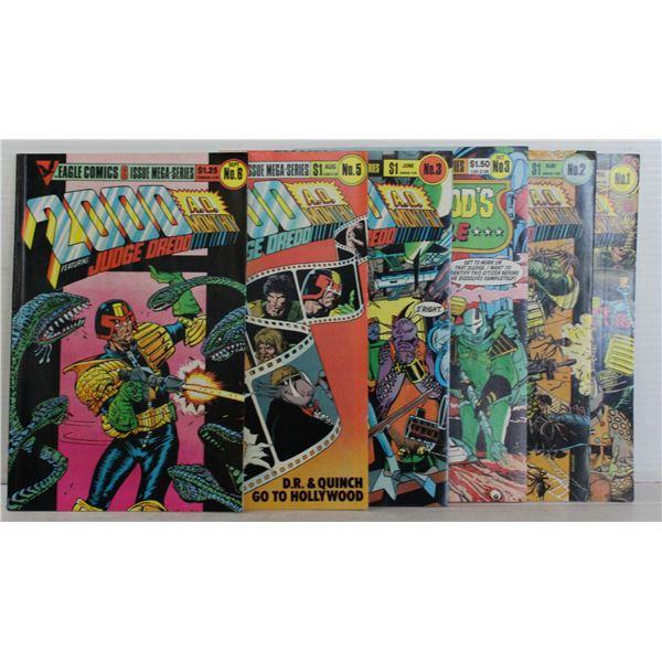 EAGLE COMICS 1984 2000 A.D