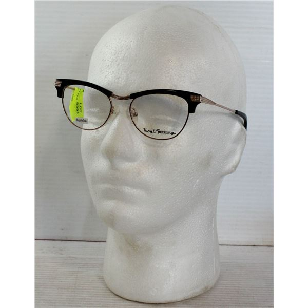 NEW VINYL FACTORY FRAMES STYLED IN NAME OF