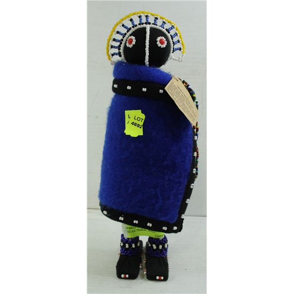 NDEBELE INITIATION NATIVE AFRICAN TRIBAL DOLL