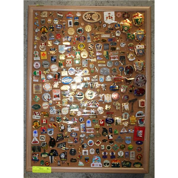 X-LARGE DISPLAY OF PINS AGT