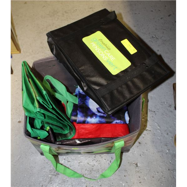 GROCERY TOTE & BAGS REUSABLE TOTES