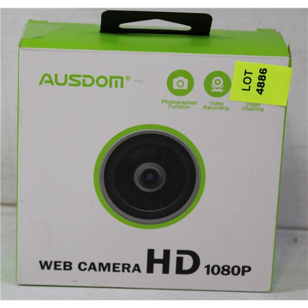AUSDOM WEB CAMERA HD 1080P