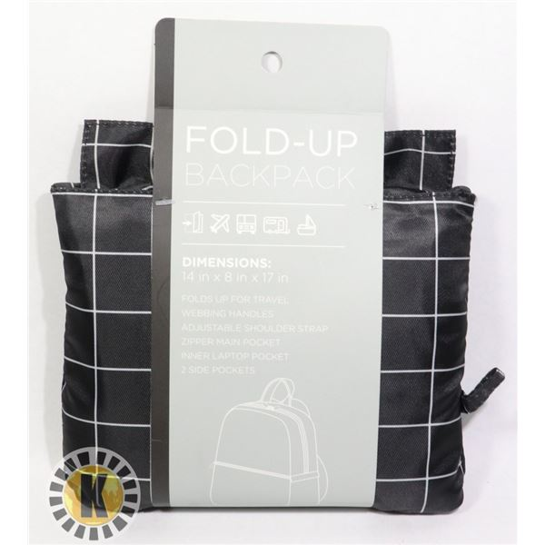 NEW FOLDABLE BACKPACK