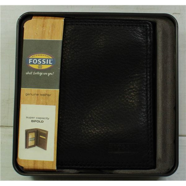 NEW FOSSIL GENUINE LEATHER