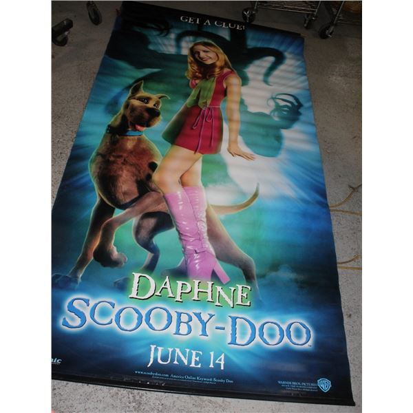 EXTRA LARGE VINYL MOVIE THEATER POSTER OF DAPHNE