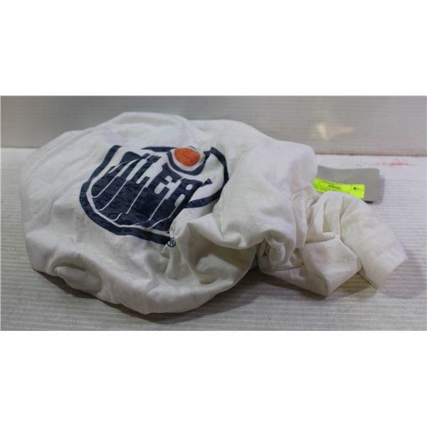 OILERS NATION NHL LADIES HOODIE SHIRT NEW W/ TAGS