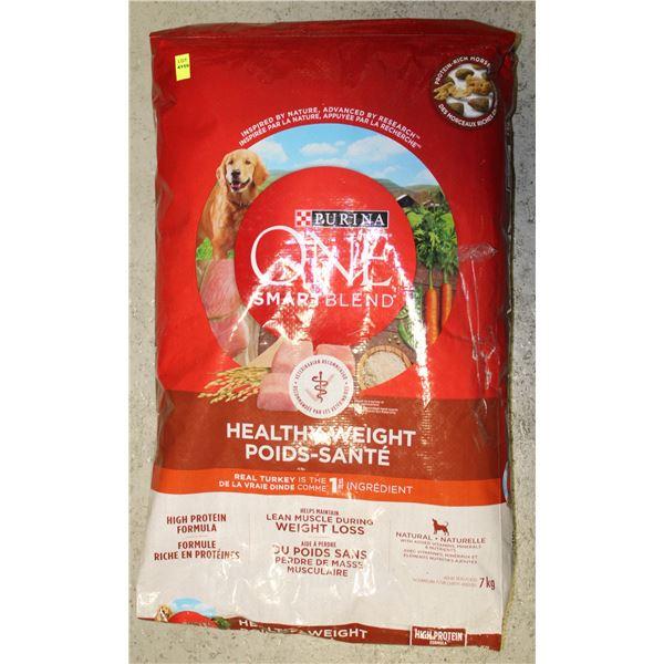 PURINA ONE SMARTBLEND DOG FOOD HEALTHY WEIGHT