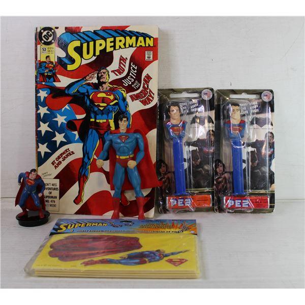 VINTAGE SUPERMAN COLLECTION