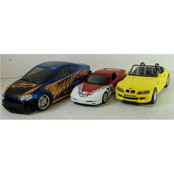 HOT WHEELS CAR, BMW CAR AND DAYTONA CAR