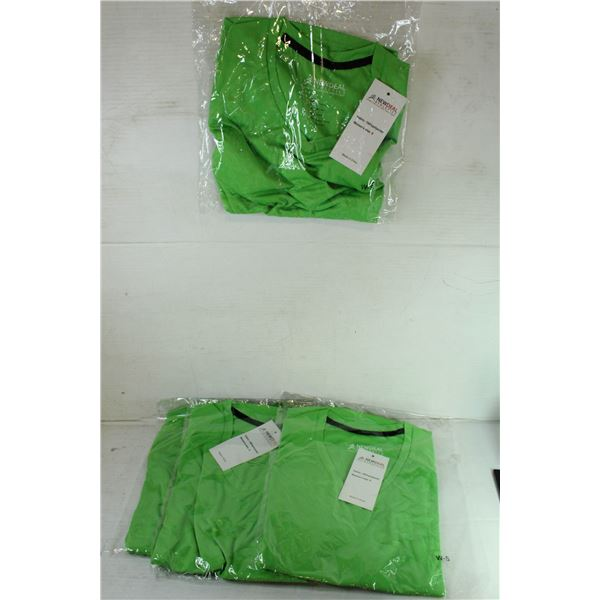 GROUP OF 4 GREEN SIZE SMALL NEWDEAL  ATHLETICS